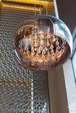 Luz de lujo de la lámpara de Modren Imágenes de archivo libres de regalías