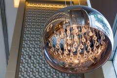 Luz de lujo de la lámpara de Modren Foto de archivo