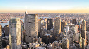 Luz de Manhattan fotos de stock
