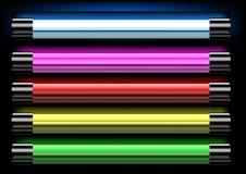 Luz de néon Imagem de Stock