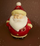 Luz de Papá Noel Imagenes de archivo