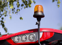 Luz de piscamento Foto de Stock Royalty Free