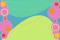 Luz de Retronation - verde ilustração stock