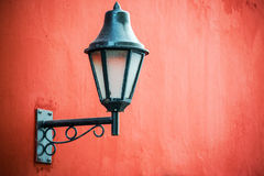 Luz de rua colonial Fotografia de Stock
