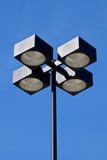 Luz de rua comercial industrial da categoria foto de stock
