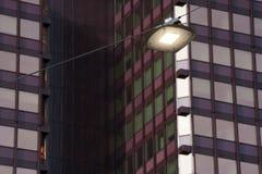 Luz de rua conduzida fotografia de stock royalty free