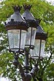 Luz de rua tradicional Imagens de Stock