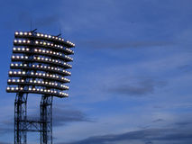 Luz de Stadio fotografía de archivo
