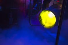 Luz de teatro Fotografía de archivo libre de regalías