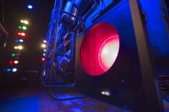 Luz de teatro Imagenes de archivo
