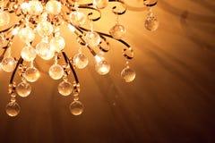 Luz de techo de la lámpara del metal Fotos de archivo