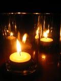 luz de una vela - candlenight Imagenes de archivo