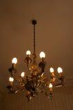Luz de una vela II de la vendimia Fotografía de archivo