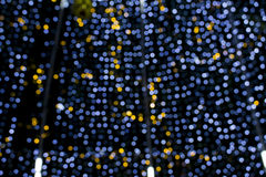 Luz defocused do bokeh do Natal bonito Fotografia de Stock Royalty Free
