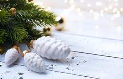 Luz del árbol de navidad del arte; Fotos de archivo libres de regalías