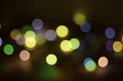 Luz del azul del día de fiesta Fotografía de archivo