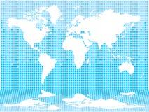 Luz del azulejo del mundo Imagen de archivo