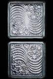 Luz del bloque de cristal Foto de archivo libre de regalías