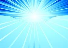 Luz del cielo Stock de ilustración