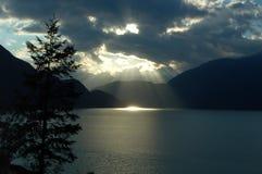 Luz del cielo Foto de archivo libre de regalías
