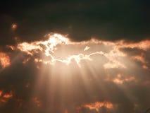 Luz del cielo Imagen de archivo libre de regalías