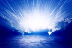 Luz del cielo Fotos de archivo libres de regalías