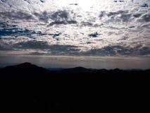 Luz del cielo Fotos de archivo