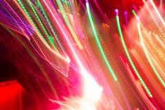 Luz del club de Defocus Luces borrosas imágenes de archivo libres de regalías