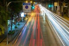 Luz del coche imagen de archivo libre de regalías