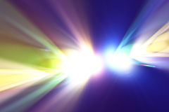 Luz del color Fotografía de archivo libre de regalías