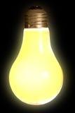 Luz del fallo de funcionamiento en negro Fotografía de archivo libre de regalías
