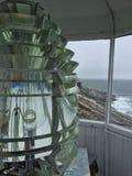 Luz del faro del punto de Pemaquid imagen de archivo