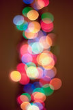 Luz del fondo de Bokeh Foto de archivo libre de regalías