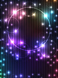 Luz del fondo del círculo de la burbuja Imagen de archivo libre de regalías