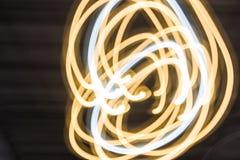 Luz del fondo del extracto del círculo Fotos de archivo libres de regalías