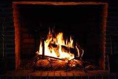 Luz del fuego Imagen de archivo libre de regalías