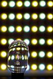 Luz del LED y del tungsteno Imágenes de archivo libres de regalías