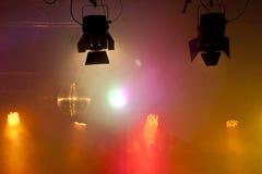 Luz del partido Fotos de archivo