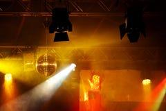 Luz del partido Imagenes de archivo