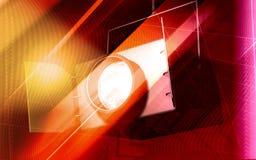 Luz del punto ilustración del vector