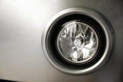Luz del punto del coche Foto de archivo libre de regalías