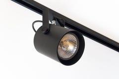 Luz del punto negro Fotos de archivo libres de regalías