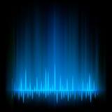 Luz del resplandor del extracto de Borealis de la aurora. EPS 8 Fotografía de archivo libre de regalías