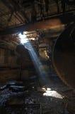 Luz del sótano Fotos de archivo libres de regalías