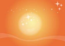 Luz del sol stock de ilustración