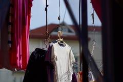 luz del sol con ropa Fotografía de archivo