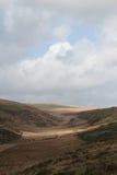 Luz del sol de Dartmoor Foto de archivo