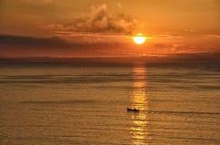 Luz del sol de ?hrough Foto de archivo libre de regalías
