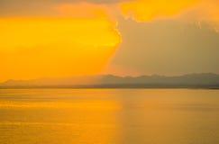 Luz del sol de la tarde Fotos de archivo libres de regalías