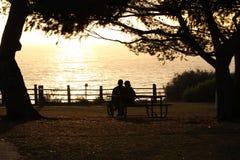 Luz del sol de la tarde en Redondo Beach Foto de archivo libre de regalías